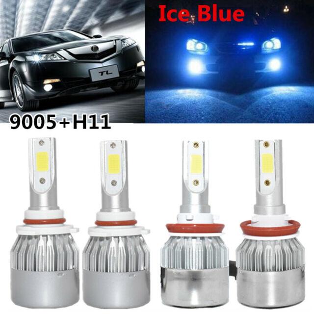 Car Headlights LED Light Bulbs For Acura ILX RDX 2013-15