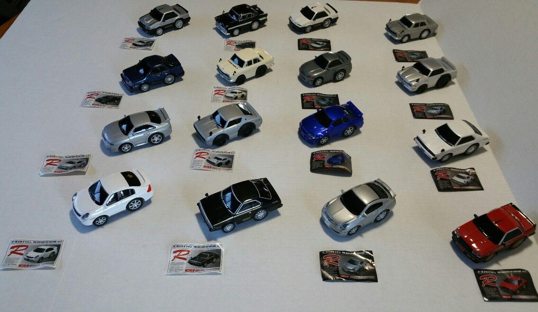 Rare Maruka Drive Town History Of Skyline Vol 1 & 2 16 Car Set Nissan Japan JDM