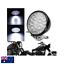 5-034-Black-billet-LED-headlight-Harley-cruiser-Chopper-Bobber-custom-cafe-racer thumbnail 1