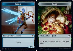 Food Throne of Eldraine Mtg x4 4x ELD Magic 017 Token