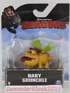 Details About Baby Gronckle Drachenzähmen Leicht Gemacht Dragons 2 Berk Mini Dragon