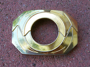 Flawed Power Gold Prop Spare Morpher Plate Ranger Cosplay Buckle (91-93 Morpher)