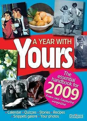 """""""AS NEW"""" A Year With Yours 2009 (Annual), Yours Magazine Yearbook, Book"""