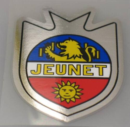 sku Jeun701 Jeunet Bicycle Chrome Head Badge Decal