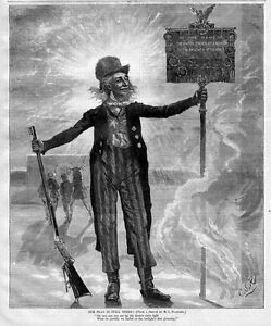 UNCLE-SAM-WITH-RIFLE-HISTORY-UNITED-STATES-OF-AMERICA-TO-THE-RIFLEMEN-1877-FLAG