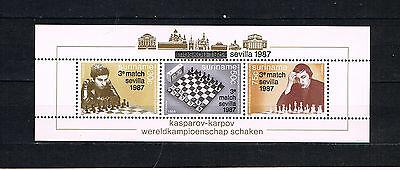 Das Beste Suriname 1987 Block 46 Schach/kasparov/sevilla Schon Postfrisch Exzellente QualitäT Suriname Süd- & Mittelamerika