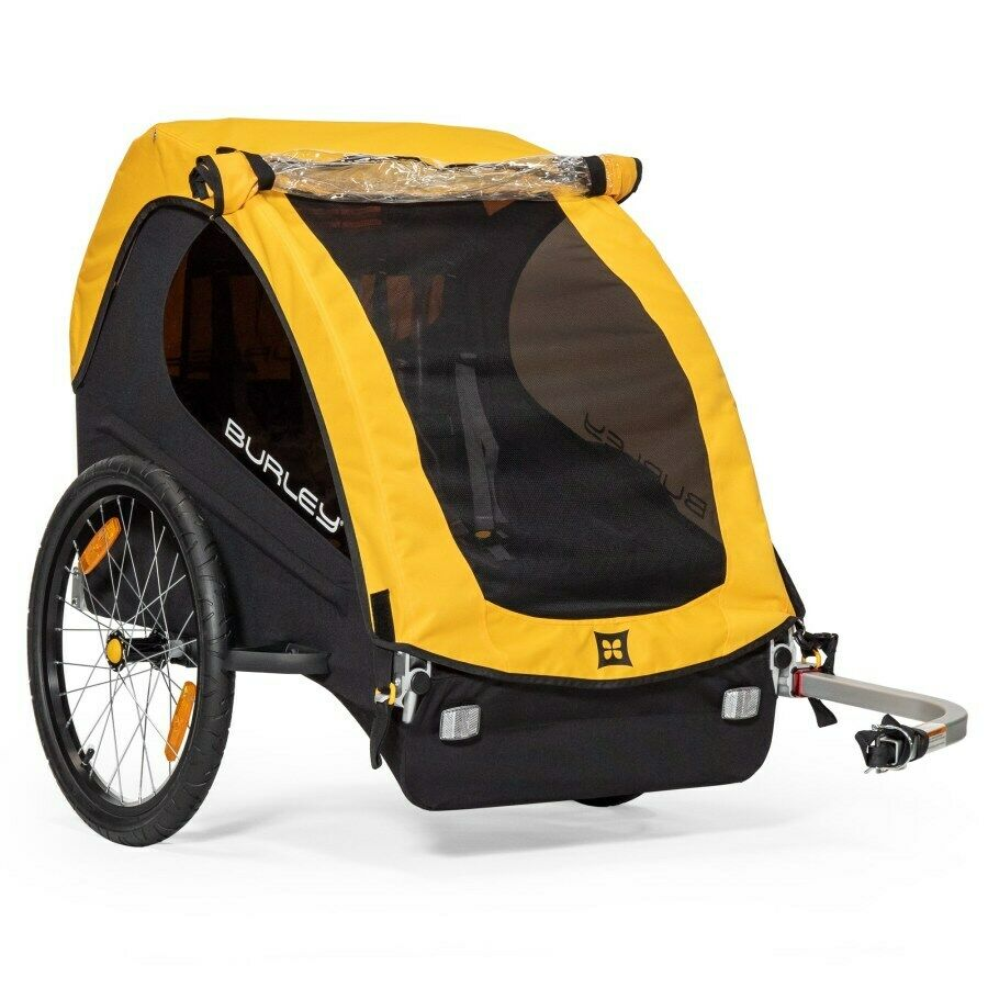 Burley Bee Bike Trailer - Excellent condition, padded seat  upgrades, extra hitch  40% off