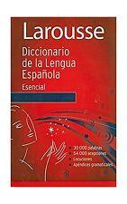 Diccionario Esencial de la Lengua Espanola (Spanish Edition) Free Shipping