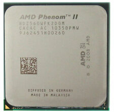 AMD Phenom II X2 560 CPU 3.30 GHz Socket AM3 and AMD Thermal Fly Heatsink