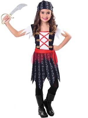2019 Moda Ragazza 6-12 Anni Costume Da Pirata Cutie Bambino Caraibi Bucaniere Costume Bambini-mostra Il Titolo Originale Ricambio Senza Costi A Qualsiasi Costo