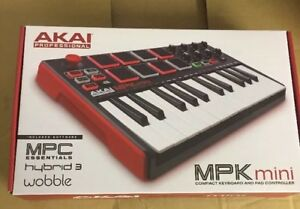 Akai-MPK-Mini-Mk2-MIDI-USB-Controller-Keyboard-MPKMINI-MkII-New-Version