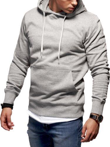 JACK /& JONES Kapuzenpullover Sweat Jacke Pullover Hoodie Schwarz//Khaki//Grau NEU