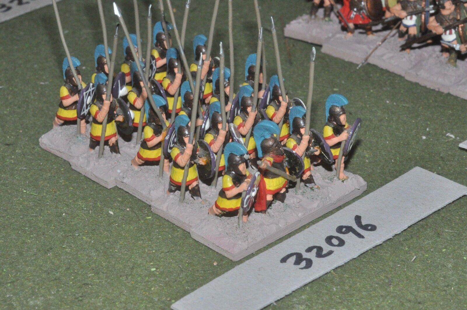 25mm classical   greek - hoplites 20 figures - inf (32096)