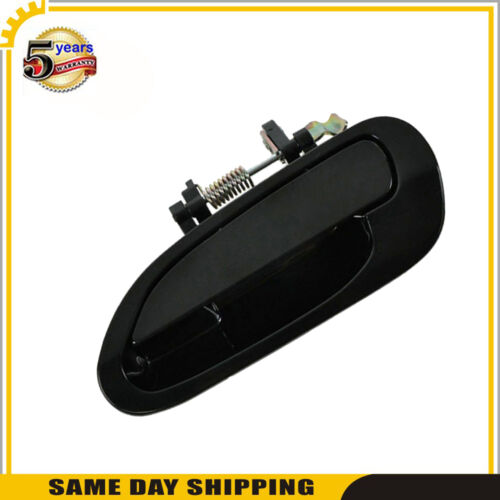 Outside Door Handle Rear Left Driver For Honda Accord 98 99-02 Non Painted Black