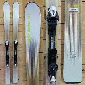Ski-test-White-Doctor-FT9-2015-181cm-Fixation-Salomon-Z10-Black-White