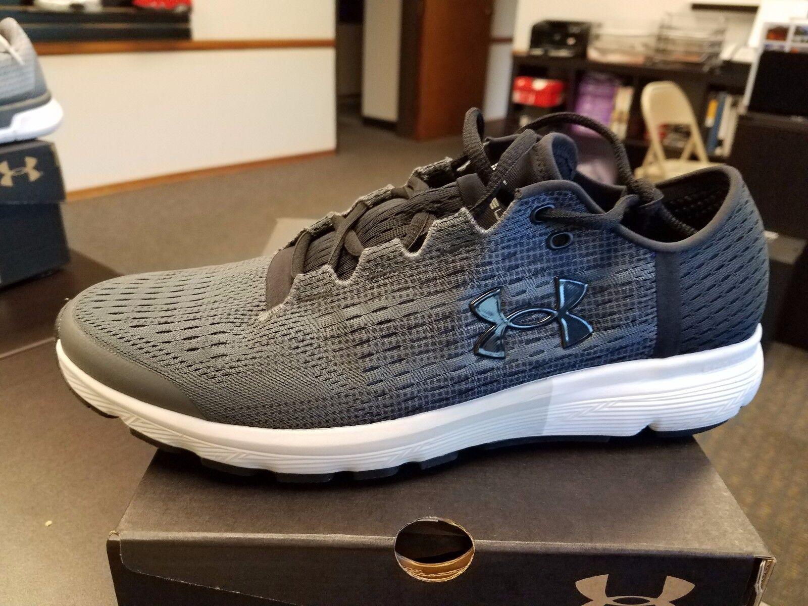 Brand New Under Armour Uomo SpeedForm Velociti Running Shoes, 1285680-076 GREY