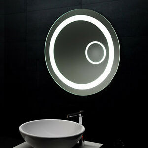 Rund Led Licht Badspiegel Wandspiegel Badezimmerspiegel