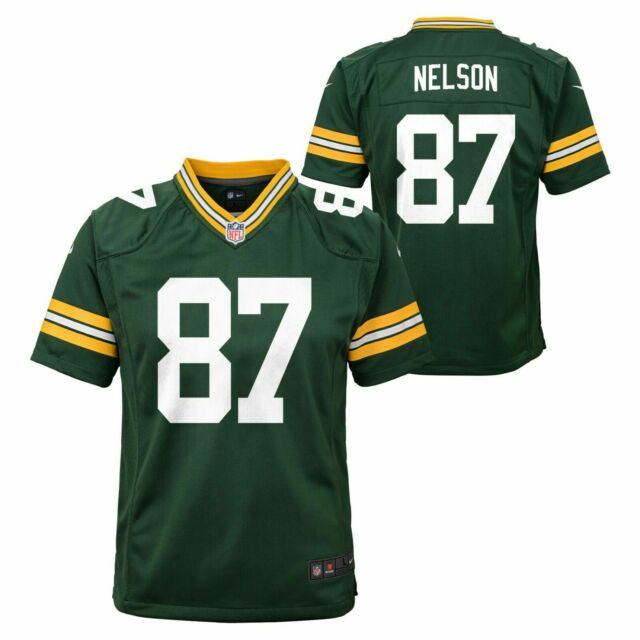 Nike NFL Green Bay Packers #87 Jordy Nelson Toddler Green Home Jersey 2t