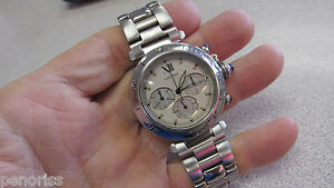 Cartier-Pasha-40-mm-Men-039-s-Watch-Chronograph-Make-Offer