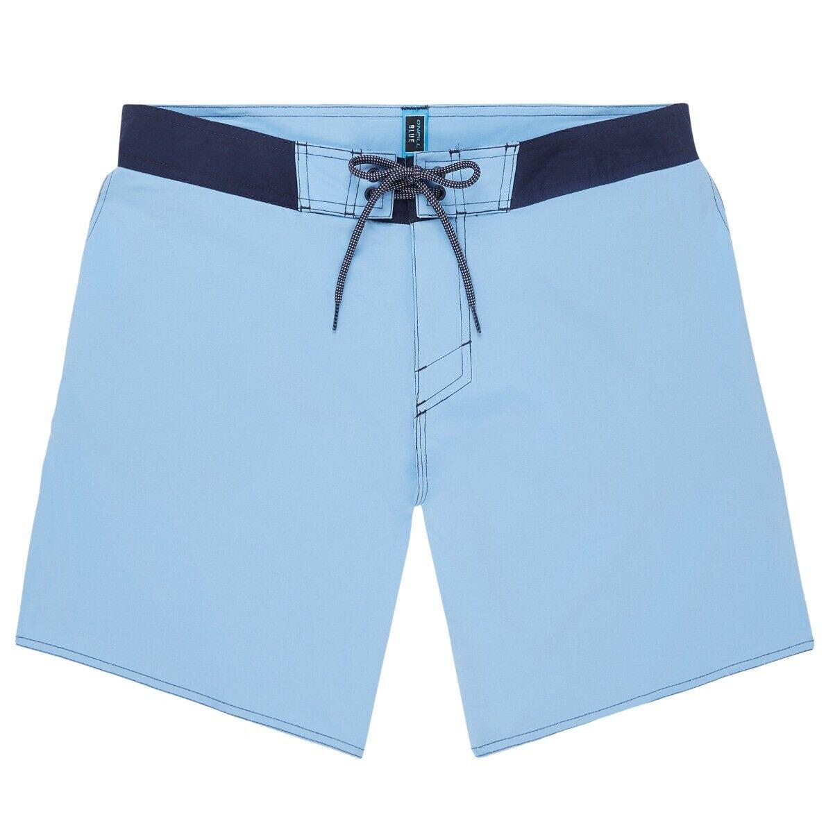 O'Neill Nuovo da Uomo Compatti Mostro Pantaloncini da Barca - blu Heaven