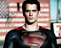 Henry Cavill: Man of Steel (Superman) 8x10 Authentic Autograph