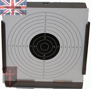 100 Air Fusil Tir Papier Cibles 14cm Pistolet Airsoft Pistolet (100g