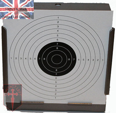 100 Air Rifle Shooting Paper Targets 14cm Pistol Airsoft Gun ( 100gsm 1p start