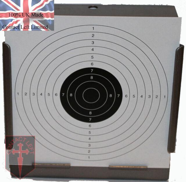 100 Air Rifle Shooting Paper Targets 14cm Pistol Airsoft Gun ( 100gsm