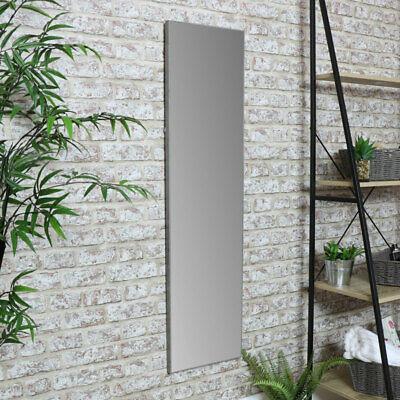 Arredamento per la Camera da Letto Silver Lungo Specchio da Parete Lunghezza Completa