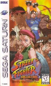 Street-Fighter-Collection-Sega-Saturn-Great-Condition-Fast-Shipping