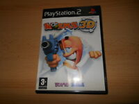 Worms 3D (Sony PlayStation 2, NEW NOT  SEALED