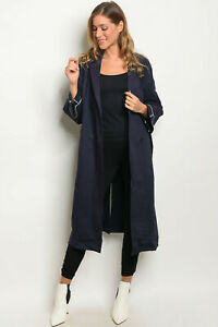 Navy women's trench coat by Dance & Marvel