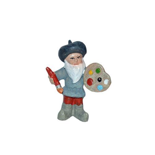 Village Gnomes Artist Accessories Miniature Dollhouse FAIRY GARDEN