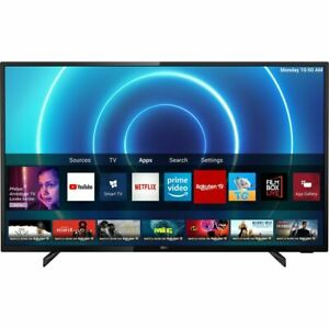 "PHILIPS SMART TV 43"" 4K UHD FLAT HDR WIFI LAN HDMI 43PUS7505/12 NERO GARANZIA"