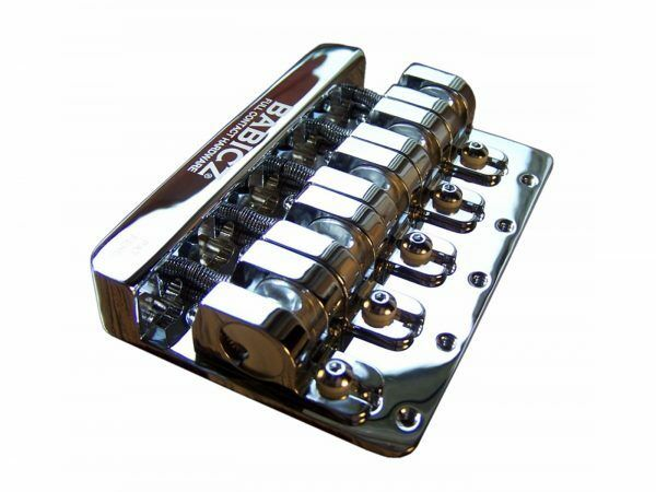 Babicz FCH-5 Bass Bridge, Original Series, 5 Hole Mount - Chrome