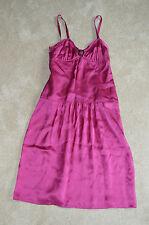 Burberry London Purple Plum Silk Night Dress Womens Size UK 8 / US 6 / FRA 38