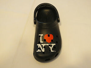 080aa90638acc Amputee left shoe only Crocs I love New York roomy fit clog shoe M 6 ...