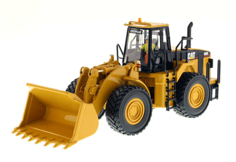 1 50 Scale DM Caterpillar CAT 980G Wheel Loader Diecast Models Collection