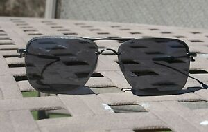 28c8a7bbaa OAKLEY TAILHOOK Satin Black w  Grey Lens Mens Aviator Sunglasses ...