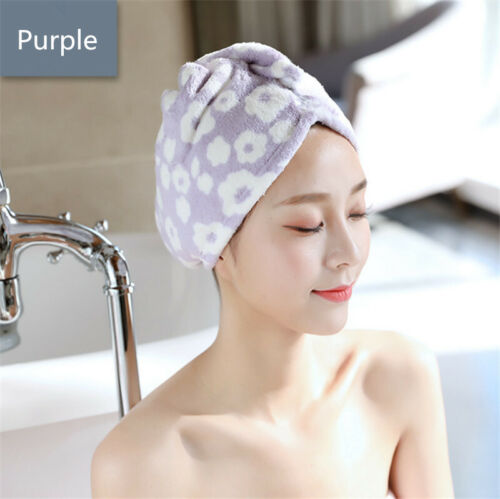 Anti Frizz Magic Details about  /Hair Towel Wrap Turban Microfiber Fast Drying Shower Towel