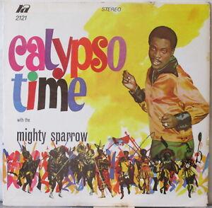 MIGHTY-SPARROW-Calypso-Time-with-the-Mighty-Sparrow-LP-Reggae-Calypso