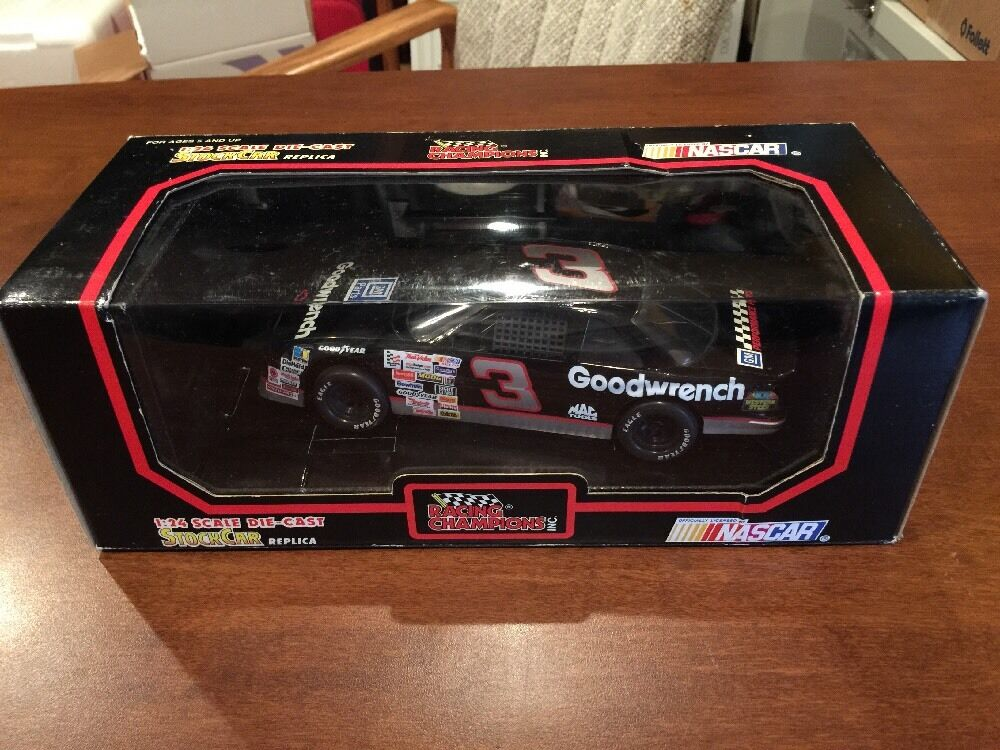 1992 Racing Champions 1 24 Diecast NASCAR Dale Earnhardt giallo Letterosso Tires