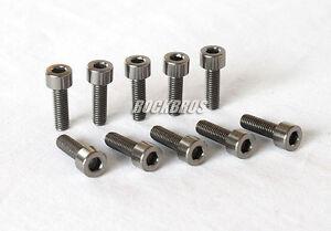 RockBros Titanium Ti Bolt Screw M5 x 16mm Allen Head 10pcs