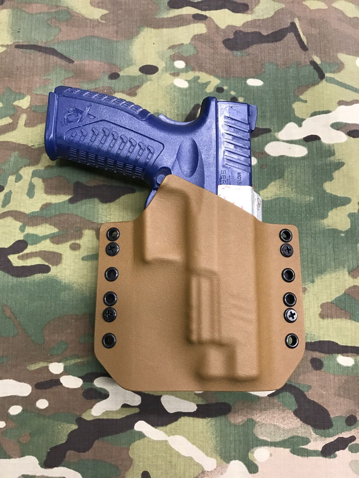 Coyote Tan Kydex Springfield XDM 9/40  Holster