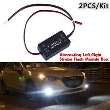 12V For Fog Lights,LED DRL Alternating Left/Right Strobe Flash Module Wiring Box