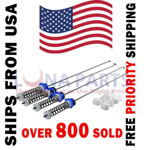 PS11723157 AP5985113 Washer Suspension Rods for Whirlpool W10820048 W10189077