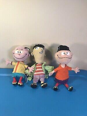 Ed, Edd n Eddy Plush Bobbleheads RARE! Cartoon Network ...