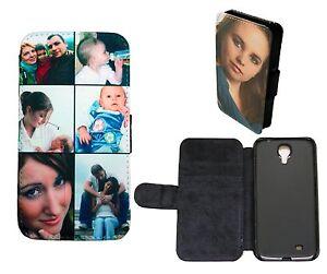 personalised custom printed flip wallet phone case cover collage