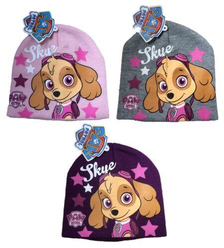 OFFICIAL PAW PATROL Beanie Hat Girls Skye Winter Hat 1-7 years