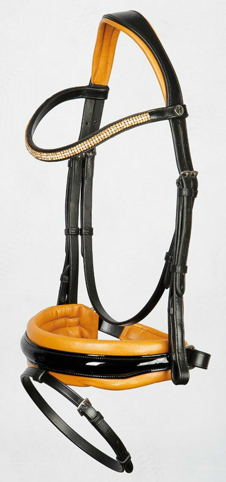 Harry's Horse sueca frenillo silueta de cuero blando de Stravinsky 3 Colors